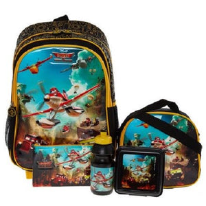 Disney Planes Fire & Rescue Five in One School Luggage Set