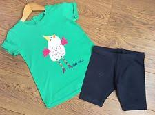 Next Girls Green Chicken T-Shirt