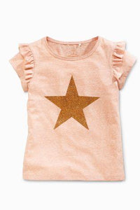 Next Glitter Star T-Shirt - Stockpoint Apparel Outlet