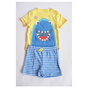 Pep & Co Blue Shark Two Piece Set - Stockpoint Apparel Outlet