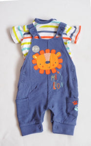 Pep & Co Baby Boys My Lion Two Piece Set