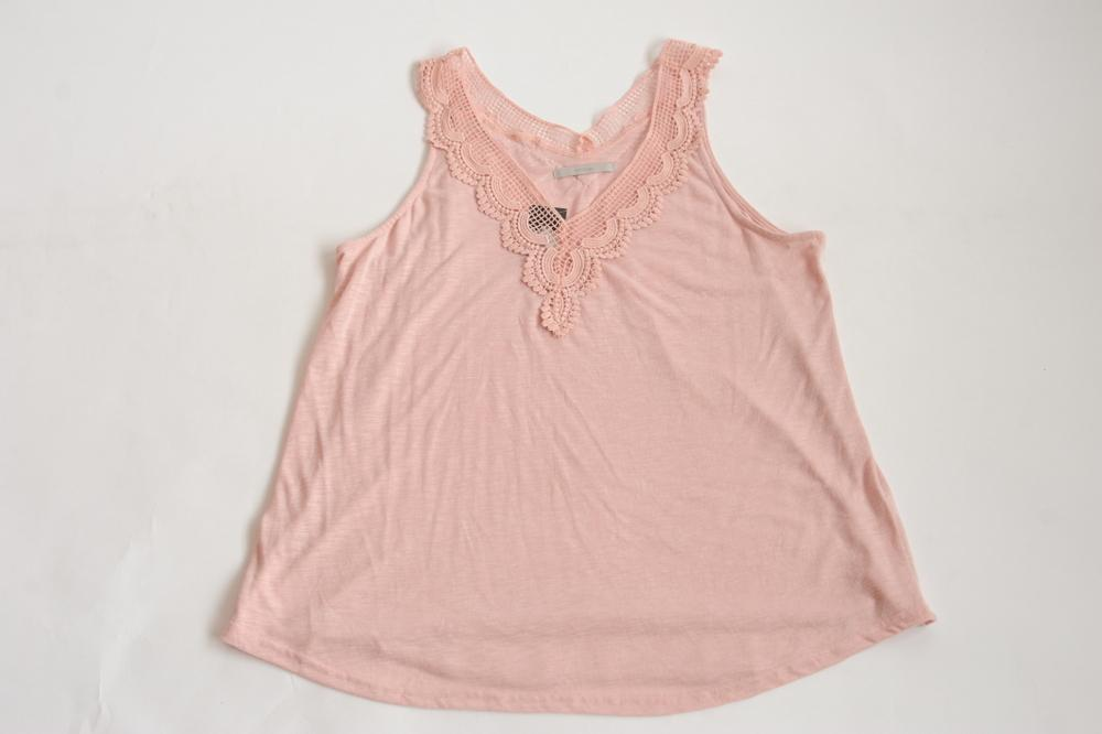 Pep & Co Pink Sleeveless Top - Stockpoint Apparel Outlet