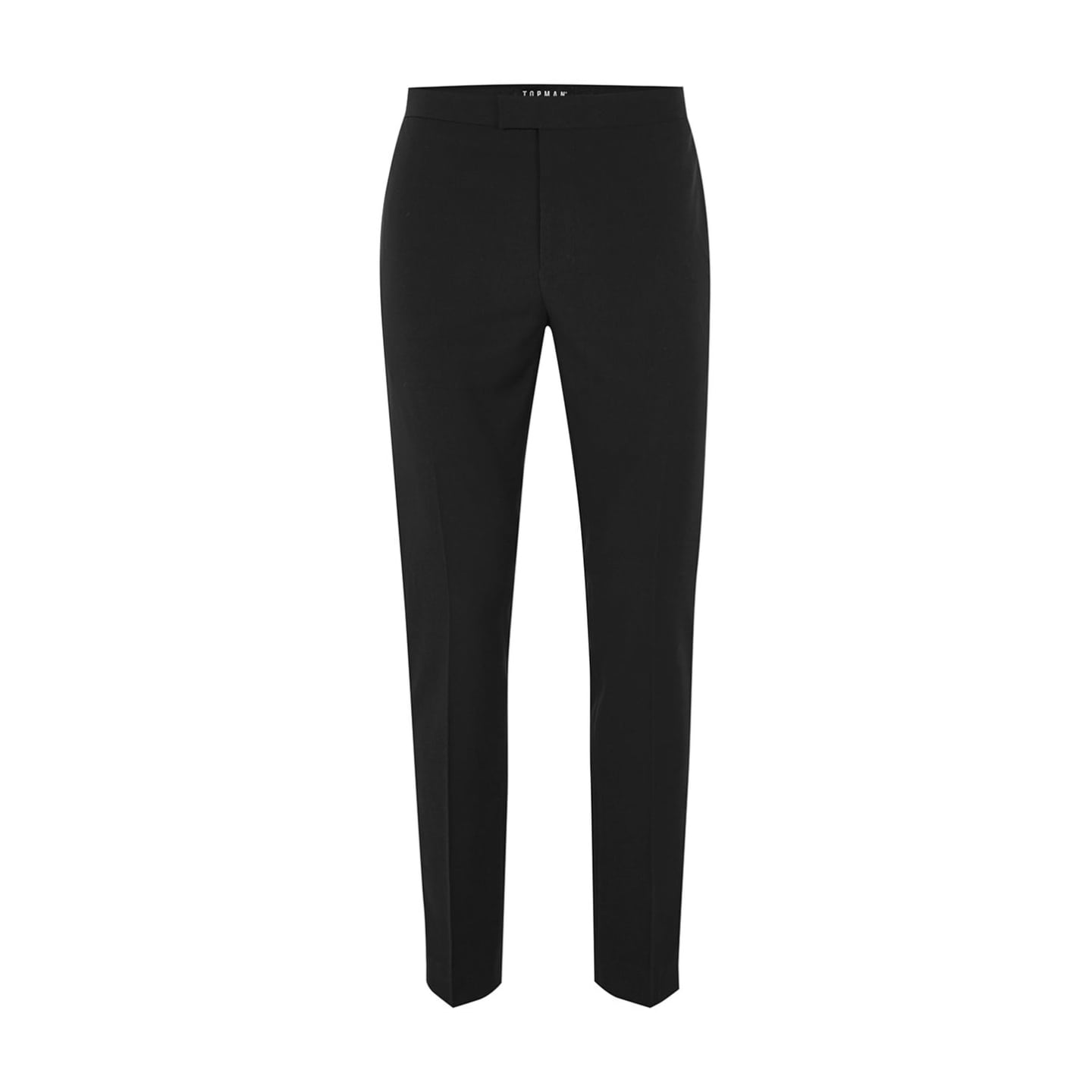 Topman Black Textured Skinny Tux Trousers - Stockpoint Apparel Outlet