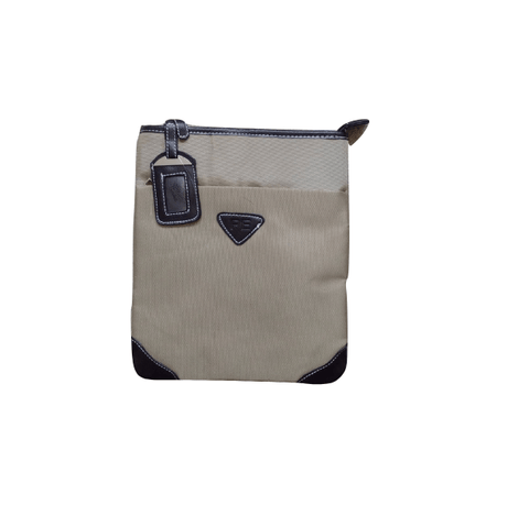 PE Brown Cross Body Bag