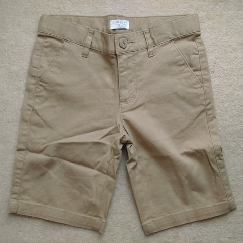 Est 1989 Place Boys Woven Light Brown Chino Shorts