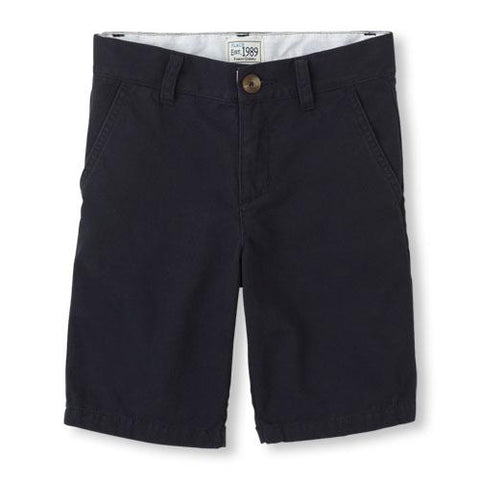 Est 1989 Place Boys Woven Chino Navy Shorts