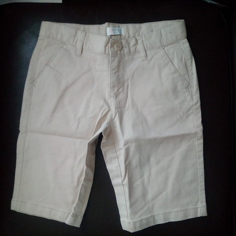 Est 1989 Place Boys Woven Khaki Chino Shorts