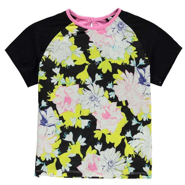 French Connection Floral Block Girls T-Shirt
