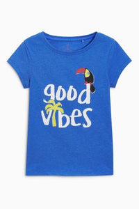 Next Blue Good Vibes T-Shirt