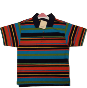 Mothercare Multistriped Baby Boys Polo Shirt