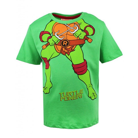 Turtle Power Boys T-Shirt Green - Stockpoint Apparel Outlet