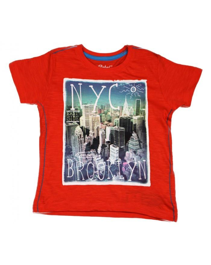 Primark Rebel Boys NYC Brooklyn T-Shirt - Stockpoint Apparel Outlet