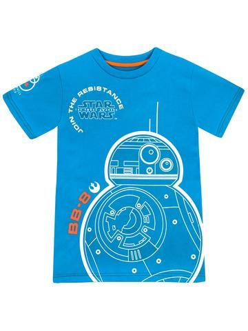 Star Wars Boys Glow in the Dark BB8 T-Shirt