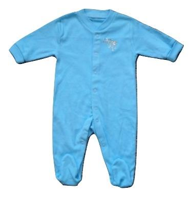 Baby Boys Blue Sleepsuit