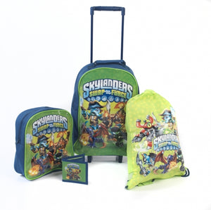 Skylanders Character 4 Pack Luggage Set