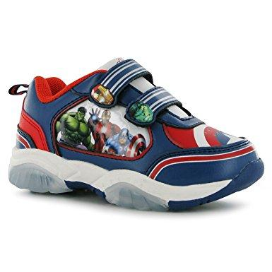 Marvel Avengers Baby Boys Light It Up Trainers