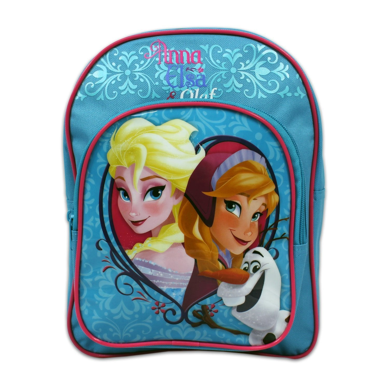 Disney Frozen Backpack Anna Elsa & Olaf Girls Backpack.