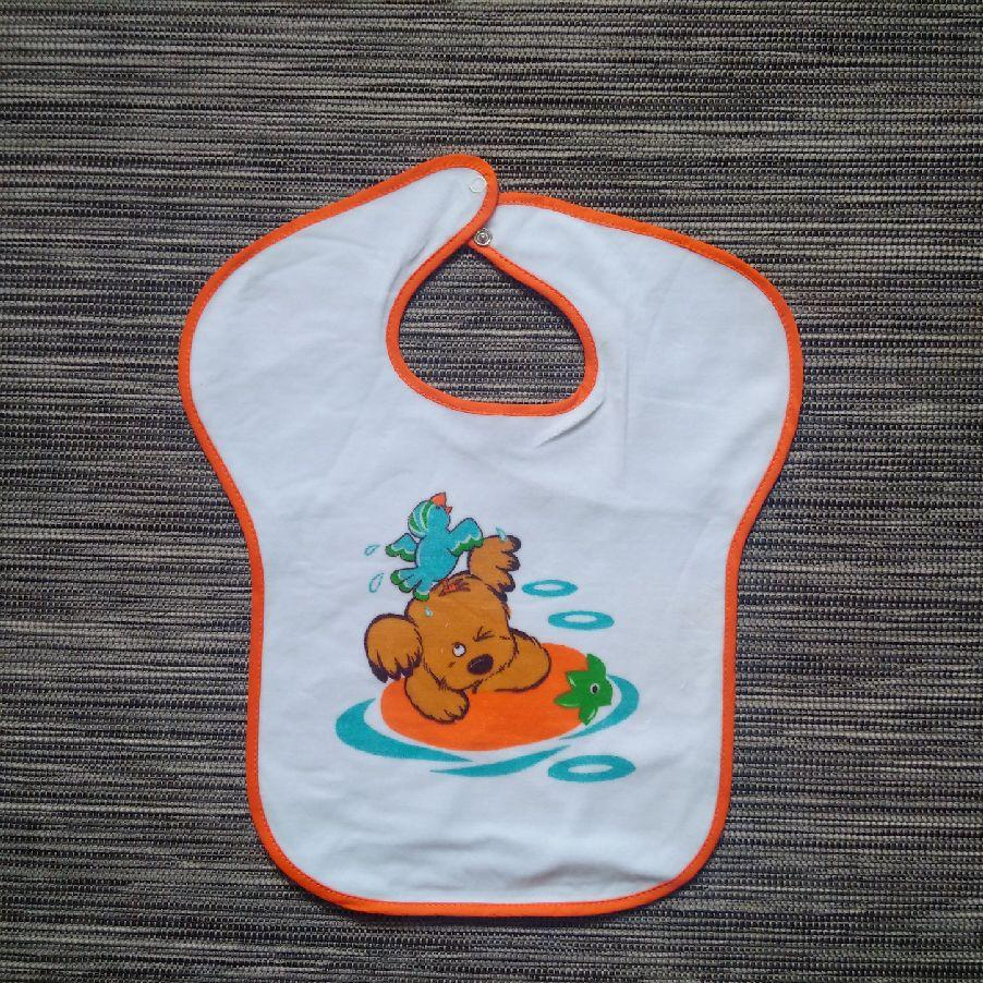 Girls Bibs - Orange