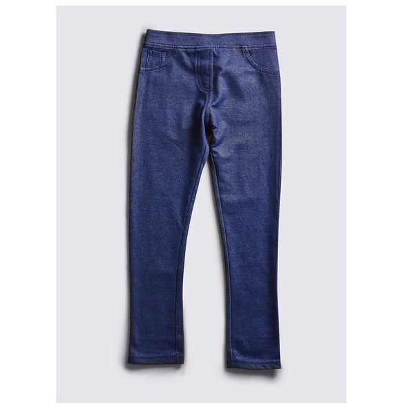 M&S Medium Blue Denim Jeggings - Stockpoint Apparel Outlet