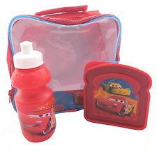 Disney Cars 3 Piece Lunch Set