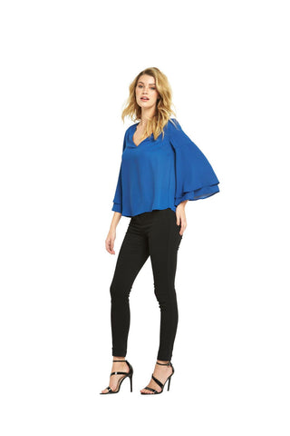 V By Very Womens Double Layer Sleeve Blouse