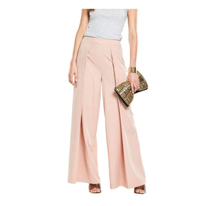 V By Very Womens Pleated Wide Leg Trousers