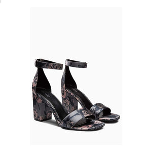 Next Womens Floral Block Heel Sandals