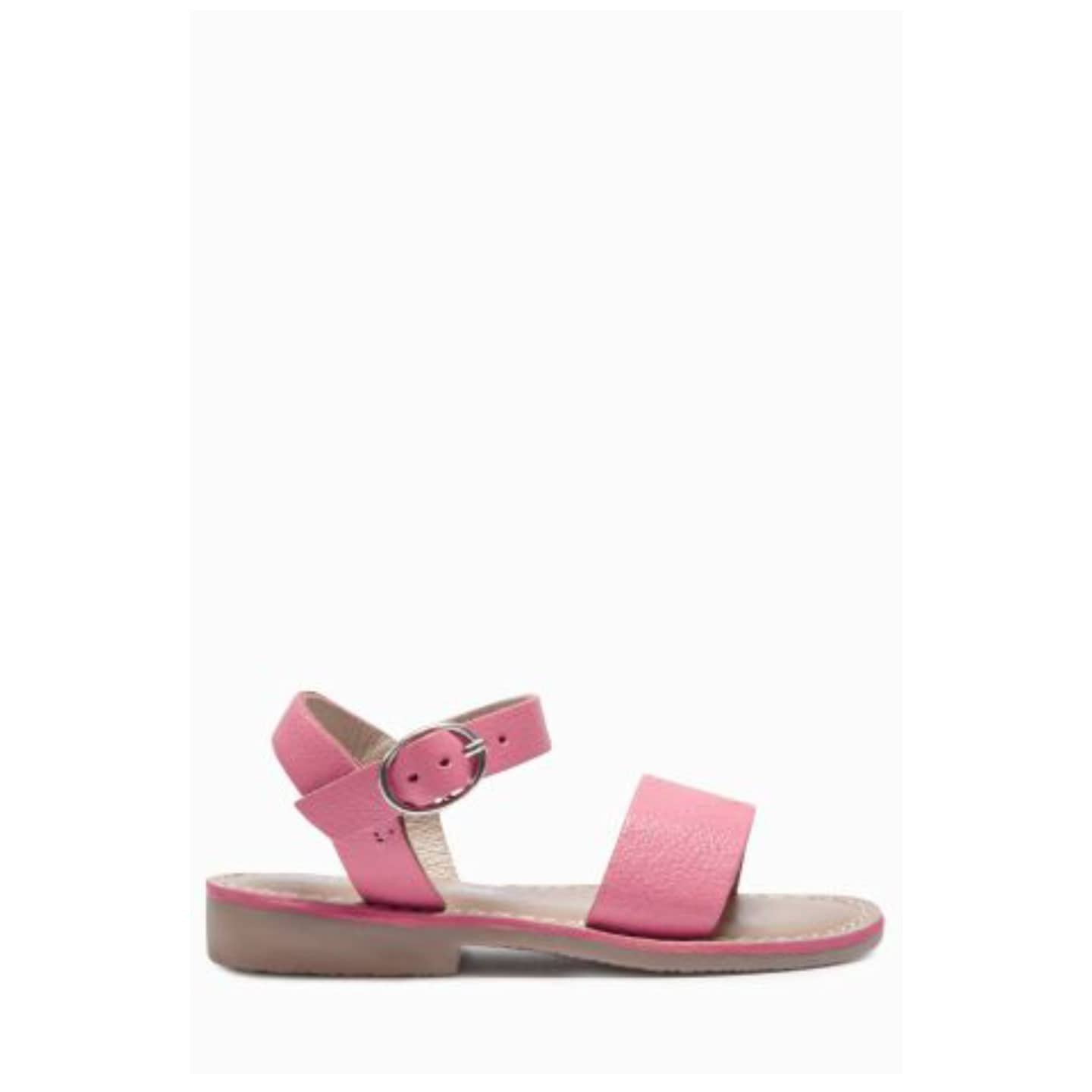 Next Pink Leather Sandals
