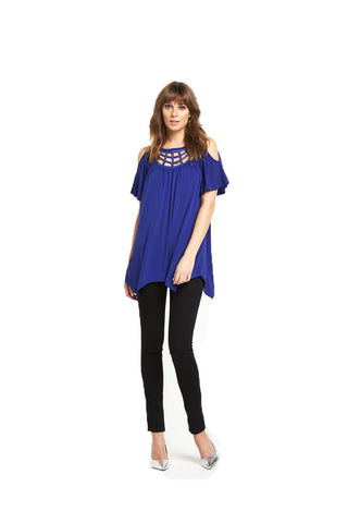 V By Very Embellished Cold Shoulder Tunic