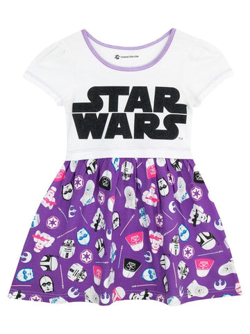 Star Wars Older Girls Dress - Stockpoint Apparel Outlet