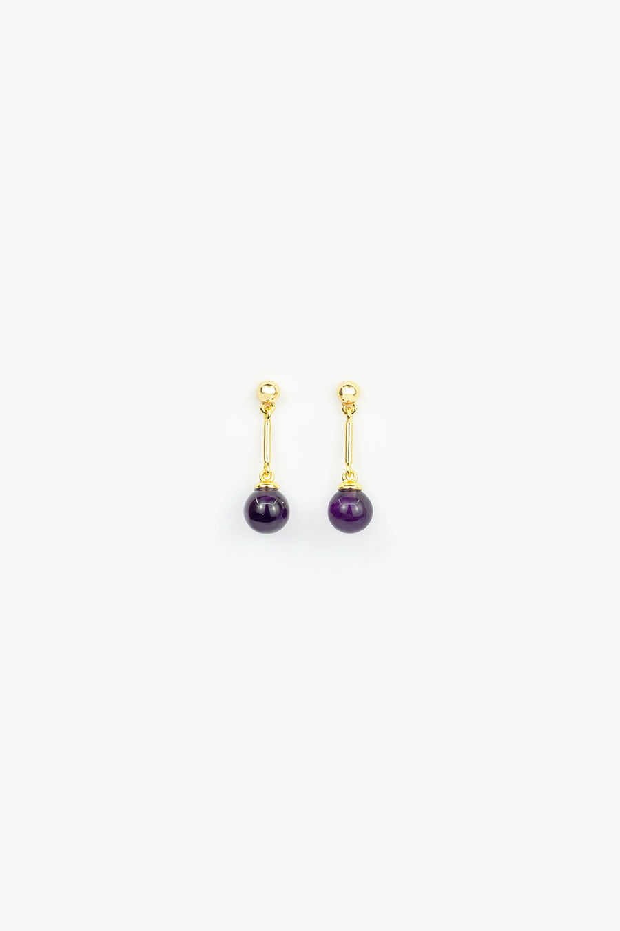 Jolene Amethyst Earrings