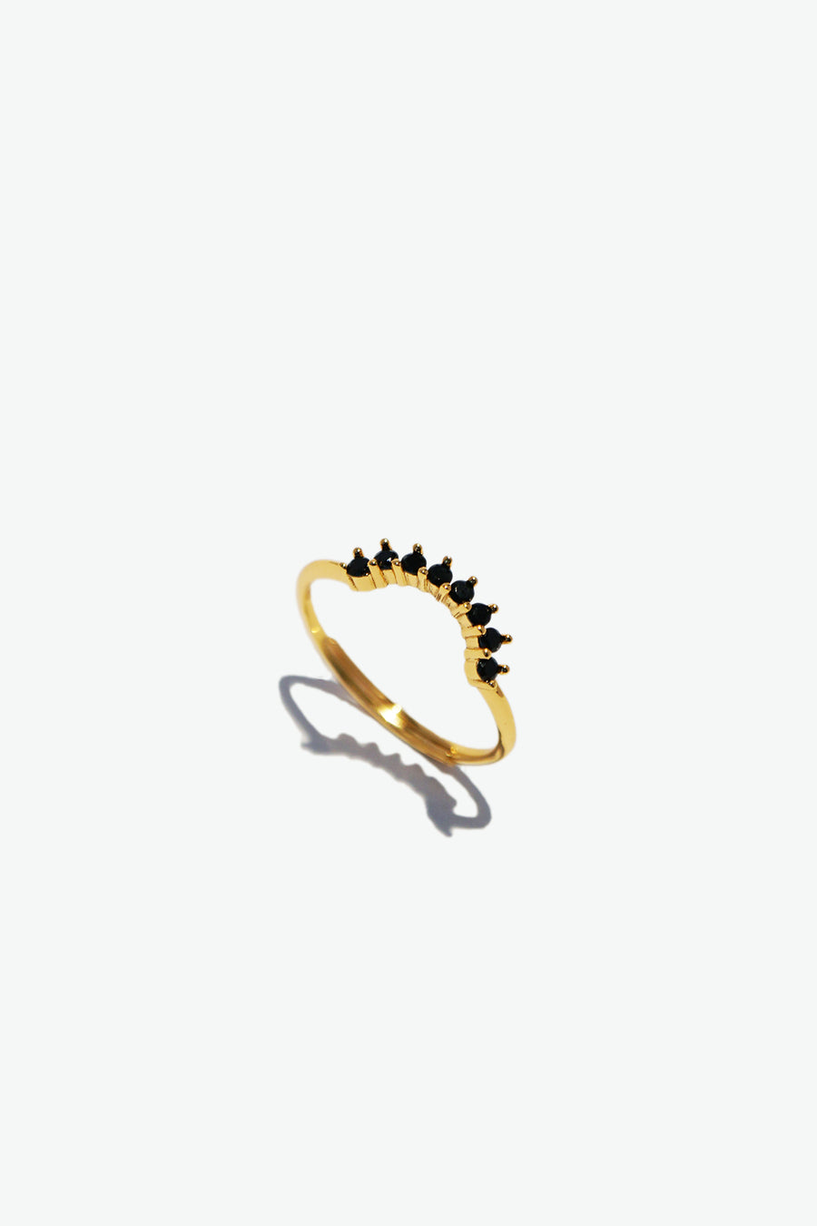 Ava 14K Gold Plated Ring
