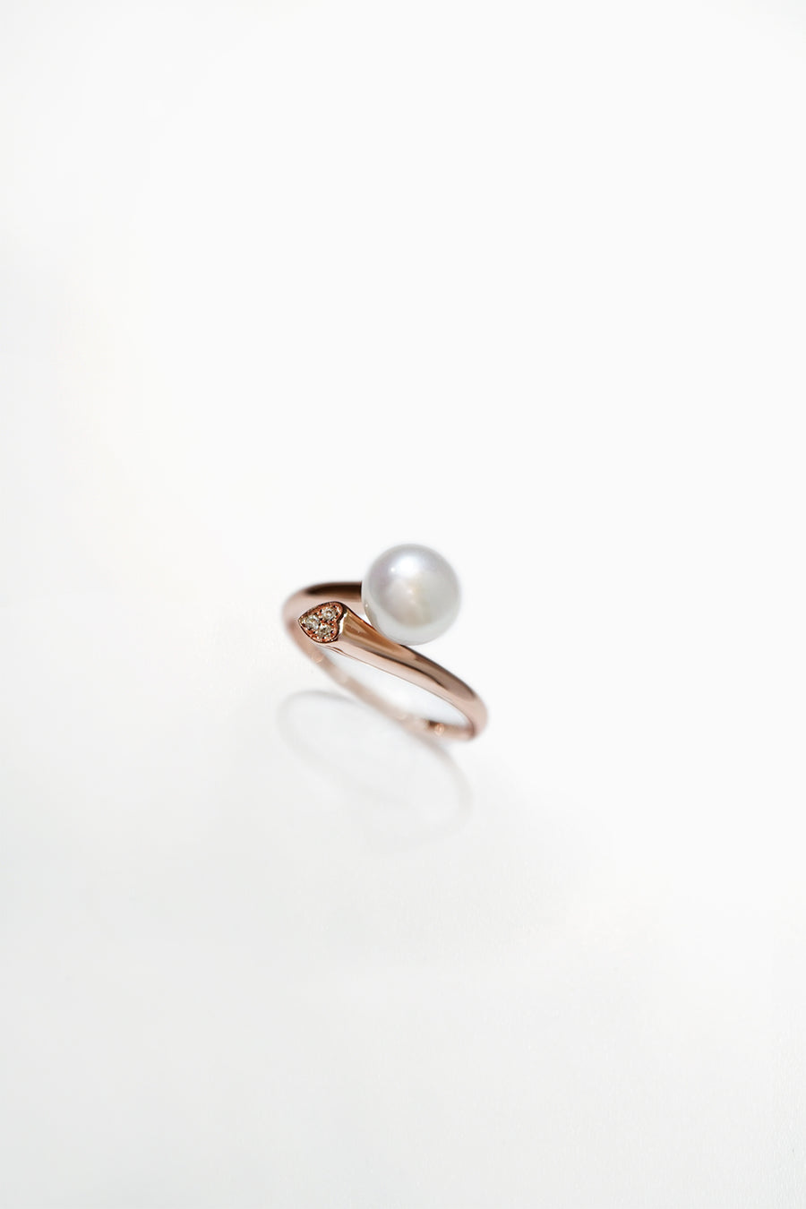 Janine 14K Gold Plated Pearl Ring