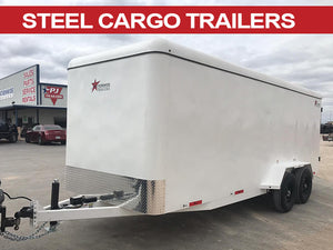 Steel Cargo Trailer 16 ft. x 6.5 ft. Wide
