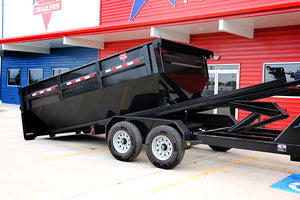 PJ Trailers Roll off Dump Trailer (DR)