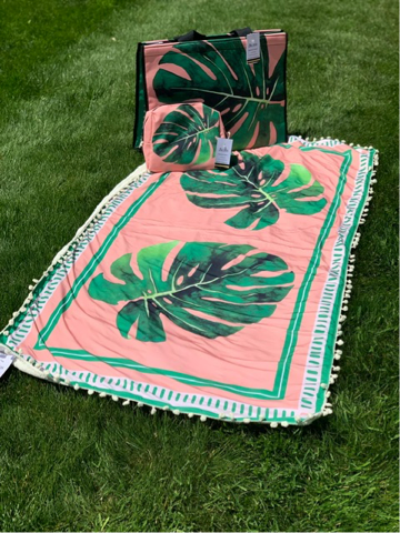 Beach Bag Kit - Tropical Leaf