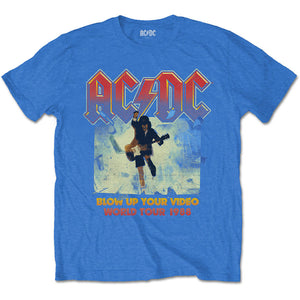 AC/DC T Shirt: Blow Up Your Video