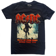 Load image into Gallery viewer, AC/DC T Shirt: Blow Up Your Video