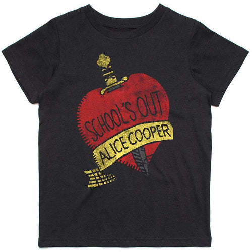 Alice Cooper Kids T Shirt: Schools Out