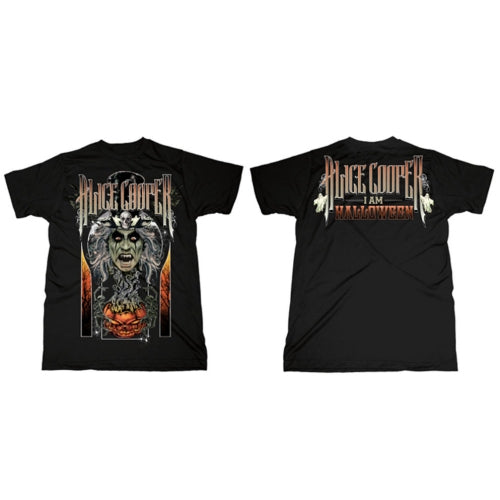 Alice Cooper T Shirt: I am Halloween (Back Print)