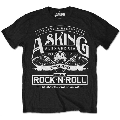 Asking Alexandria T Shirt: Rock N' Roll