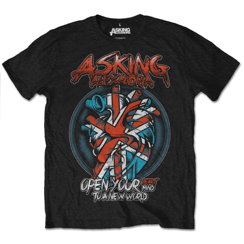 Asking Alexandria T Shirt: Heart Attack