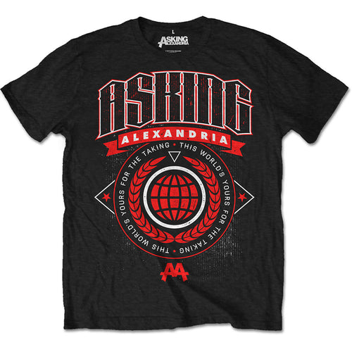 Asking Alexandria T Shirt: This World