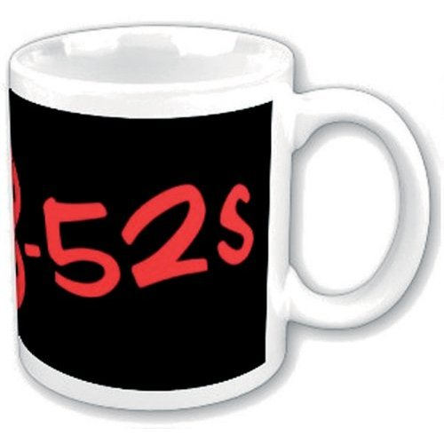 B52s Boxed Standard Mug: Red Logo