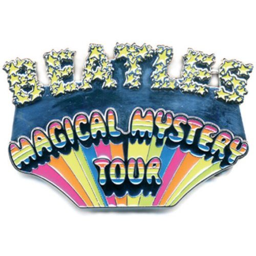 The Beatles Belt Buckle: Magical Mystery Tour