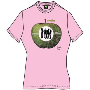 The Beatles Ladies Premium T Shirt: Something/Come Together