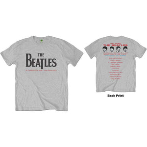 The Beatles T Shirt: Candlestick Park (Back Print)