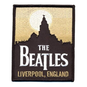 The Beatles Standard Patch: Liverpool (Iron On)