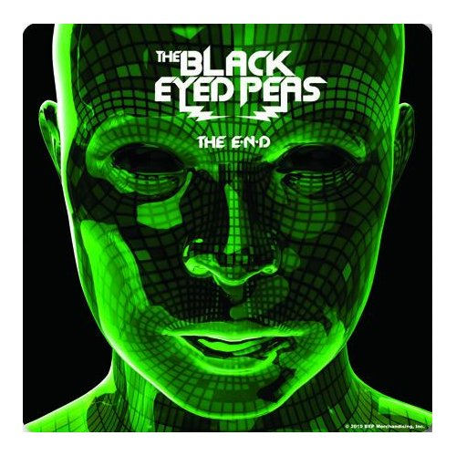 The Black Eyed Peas Single Cork Coaster: The End