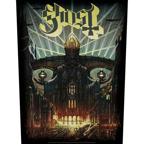 Ghost Back Patch: Meliora